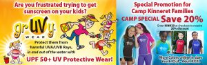 Camp Kinneret Special on Protective Wear