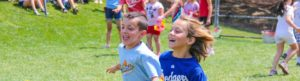 Campers Running