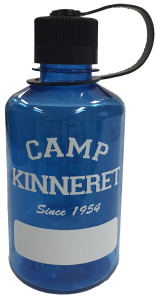 Blue Camp Kinnert Large Blue Waterbottle