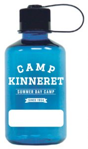 Camp Kinneret Blue Bottle Mockup