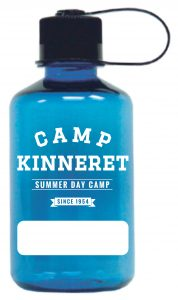 Camp Kinneret Blue Bottle Mockup